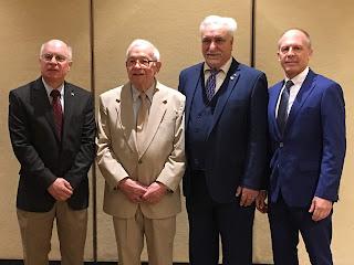 left to right are: Peter Geromini, Carlo Geromini, Antonio Sestito, Chris Geromini