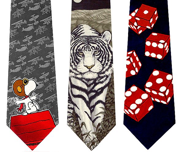 Those Really Cool Novelty Ties