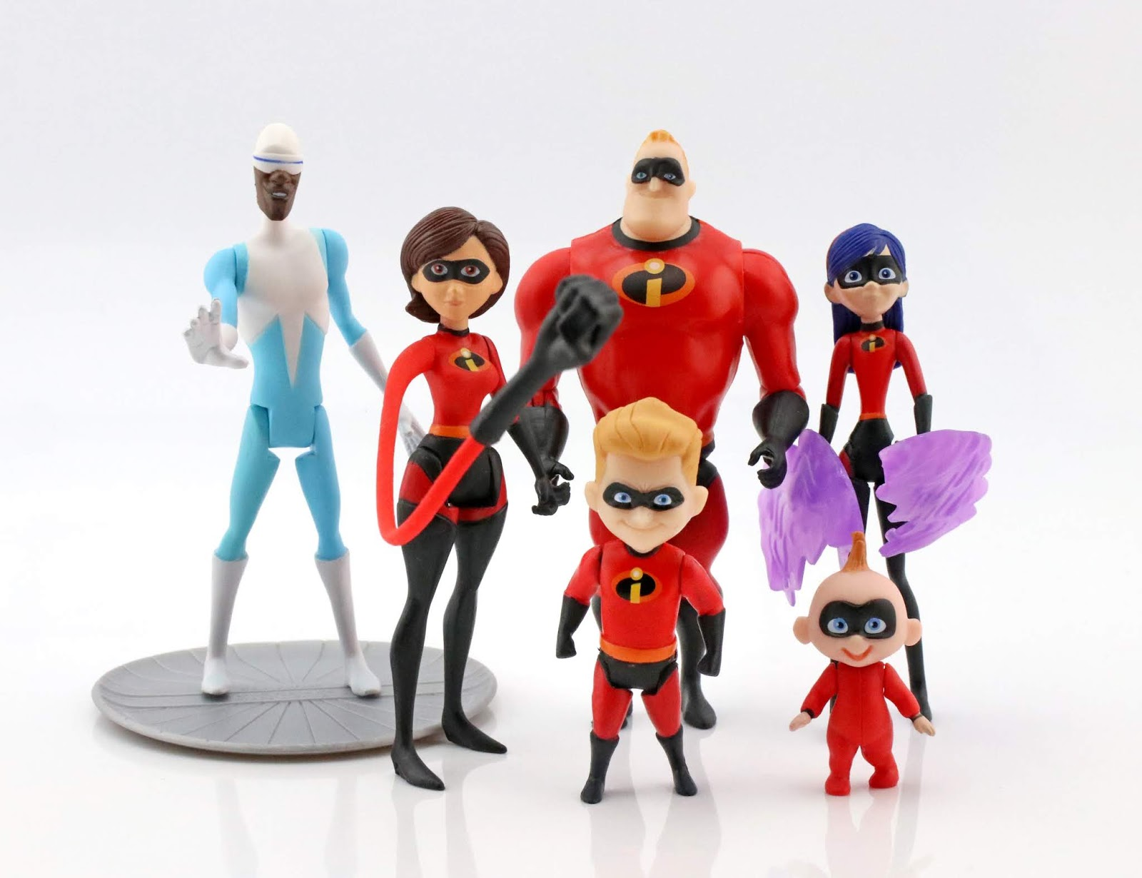 "Incredibles 2 Jakks Pacific 4"" Action Figure Collection"