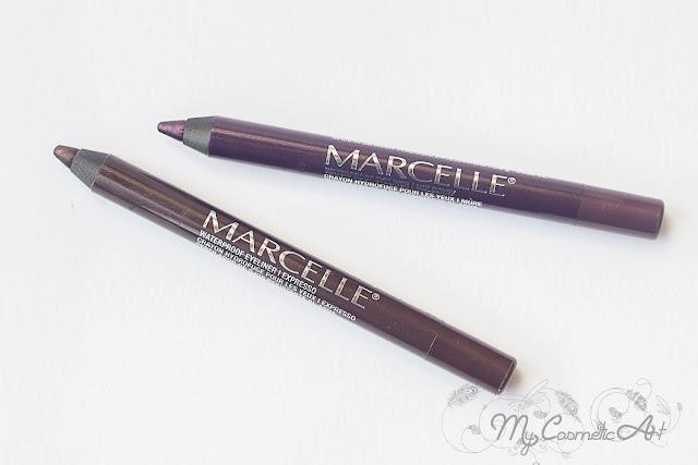 Lápices de ojos de Marcelle. Birchbox Junio de 2016.