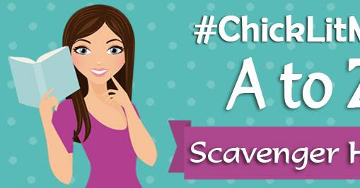 #ChickLitMay A to Z Scavenger Hunt