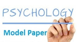 Psychology Model Paper-9 by Accurate Academy Rajkot