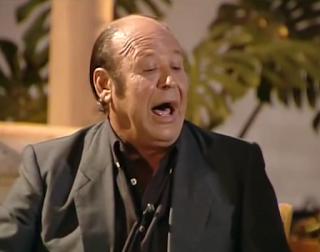 Manuel Moneo en el 2002  grabando el programa de TV Puro y Jondo