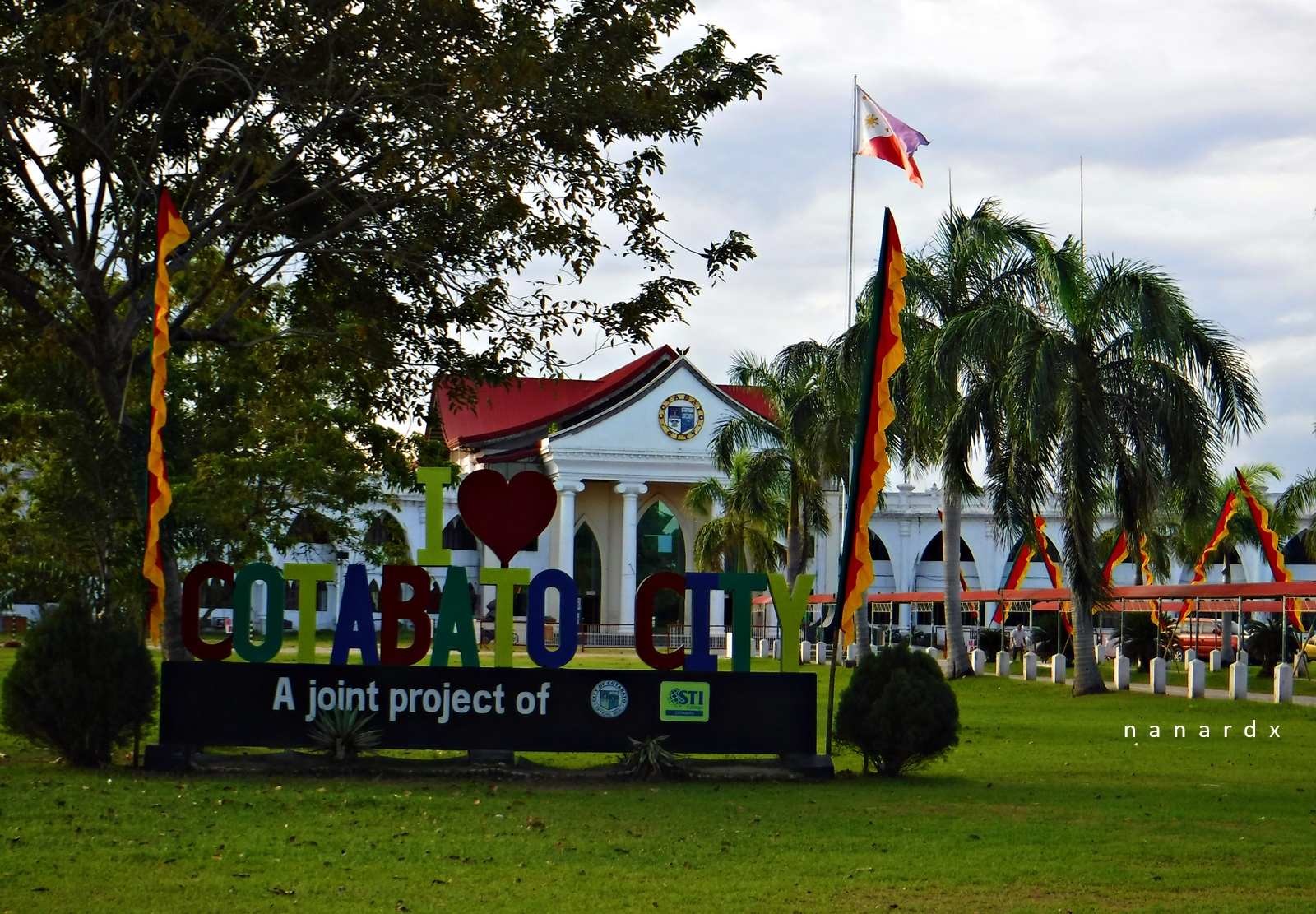 I Love Cotabato City. The People's Palace all set for Shariff Kabunsuan Festival
