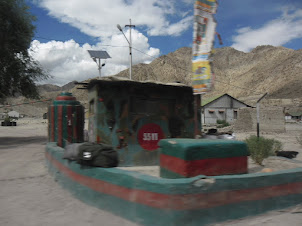 Army post No 511 in Leh City.
