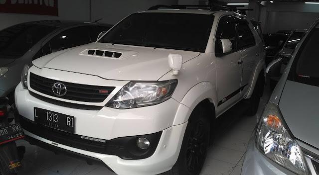 Toyota Fortuner TRD tahun 2012 bekas