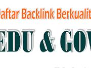 Daftar Backlink Redirect Berkualitas Terbaru