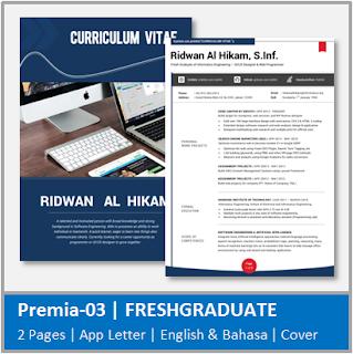 Contoh CV Fresh Graduate Jurusan Teknik Informatika