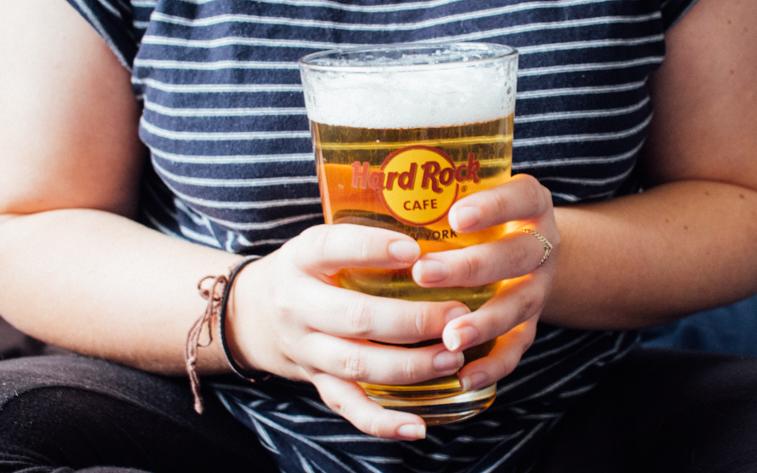 Appletiser beer shandy