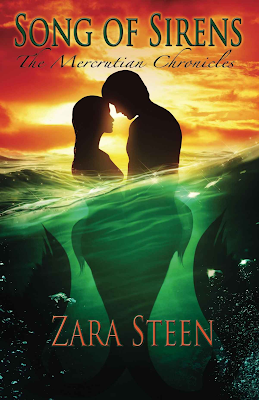 Song of Sirens, The Mercrutian Chronicles, Zara Steen, book review, On My Kindle Book Reviews