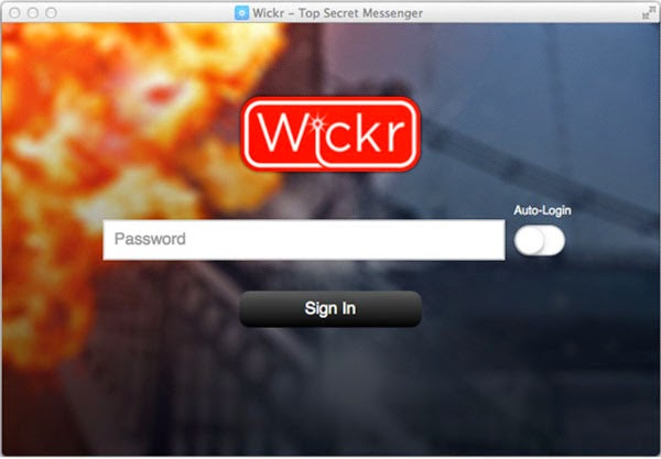 Self-destructing messaging app Wickr comes to Windows, Mac and Linux