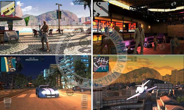 Download gratis game Gangstar Rio City Of Saints APK + Full Data Obb versi Hack mod crack gratis for android