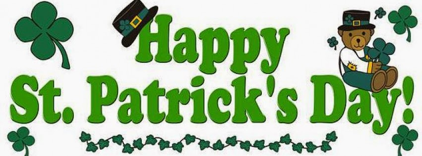 Free St. Patrick's Day Facebook Covers - Clipart - Timeline - Images