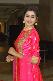 Shamili in Pink Anarkali Dress 21.JPG