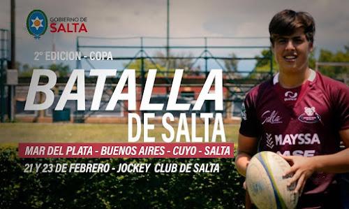 Reviví todos los partidos de la Copa Batalla de Salta #RugbyJuvenil