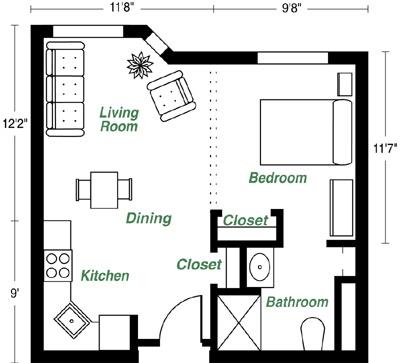 How Big Is A 452 Sq Ft Apartment A Singaporean Stocks