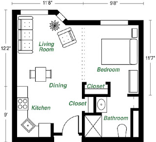 How big is a 452 sq ft apartment a singaporean stocks - How big is 500 square feet apartment ...