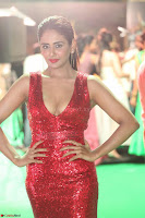 Parul Yadav in Sleeveless Deep Neck Red Gown at IIFA Utsavam Awards March 2017 020.JPG
