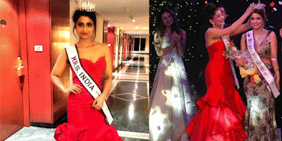 Chandigarh's Neetu Prabhakar Had Won Mrs Chandigarh Now She Became Mrs India International 2017 ,Mrs India Neetu Prabhakar,IMAGE Mrs Chandigarh,Khabar Special Fashion News, International Fashion Latest News, Mrs India International, Himanshu Ashok Malhotra, Pradeep Bandekar,Neeta, Instagram,com,The Lalit,US,Indian, Dubai, Virginia, Mumbai, Latest Fashion News at khabarspecial, Today's Top Story at khabarspecial news