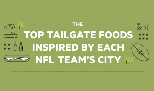 The Top Tailgate Foods Inspired by Each NFL Team's City