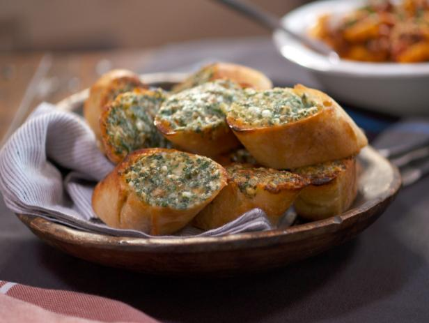 *3-Cheese and Herb Garlic Bread