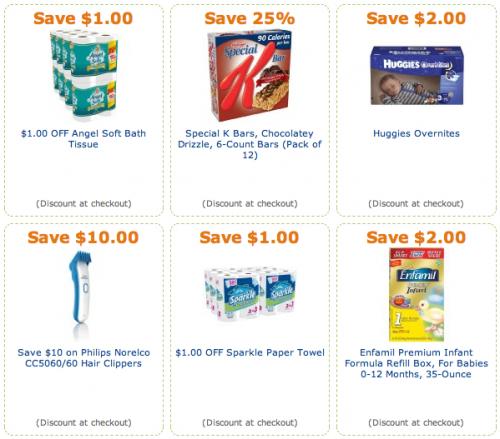 Amazon grocery coupon / Att go phone refil