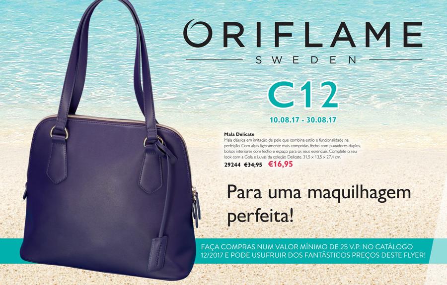 Flyer do Catálogo 12 de 2017 da Oriflame