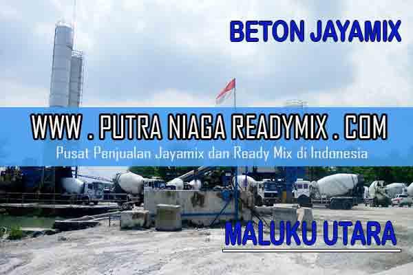 Harga Beton Jayamix Maluku Utara