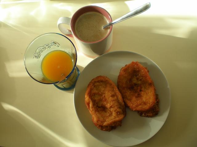 torrijas desayuno