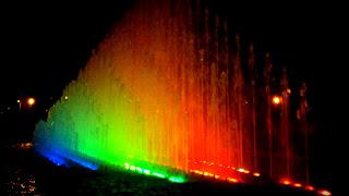 Fuente Arco Iris, Circuito Magico de las Aguas, em Lima