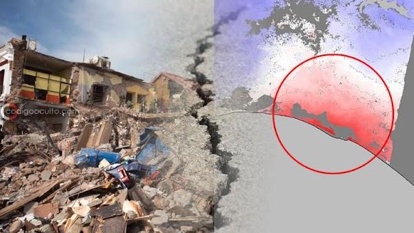 Poderoso terremoto rompe una placa tectónica en dos