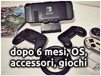 Nintendo Switch Dopo 6 Mesi: Aggiornamenti OS, Ecosistema, Accessori, Giochi!