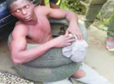 serial robber escapes death ajao estate