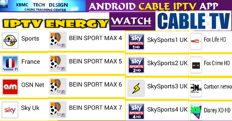 Download ENERGYTV IPTV APK- FREE (Live) Channel Stream Update(Pro) IPTV Apk For Android Streaming World Live Tv ,TV Shows,Sports,Movie on Android Quick ENERGYTV IPTV APK- FREE (Live) Channel Stream Update(Pro)IPTV Android Apk Watch World Premium Cable Live Channel or TV Shows on Android