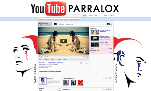 New Parralox Youtube Channel