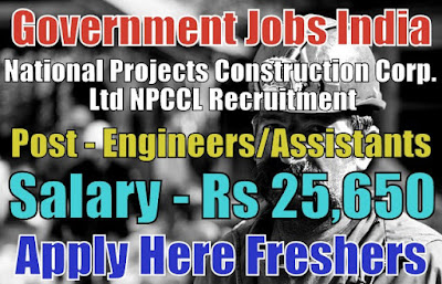 NPCCL Recruitment 2019