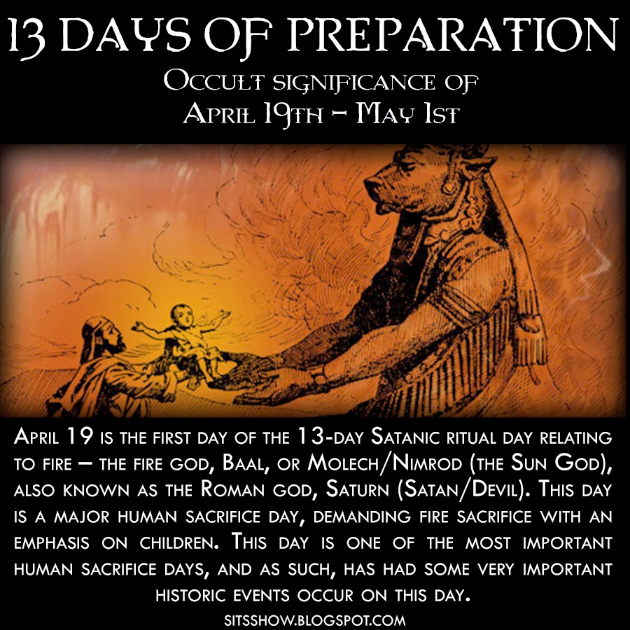13 Days of Preparation | Occult Significance of May Day and the 13 days of April 19th - May 1st  13%2BDays%2Bof%2BPreparation%2BApril%2B19th%2B-%2BMay%2B1st%2BMEME
