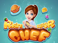 Rising Super Chef Cooking Game Mod Apk v1.8.6 Terbaru