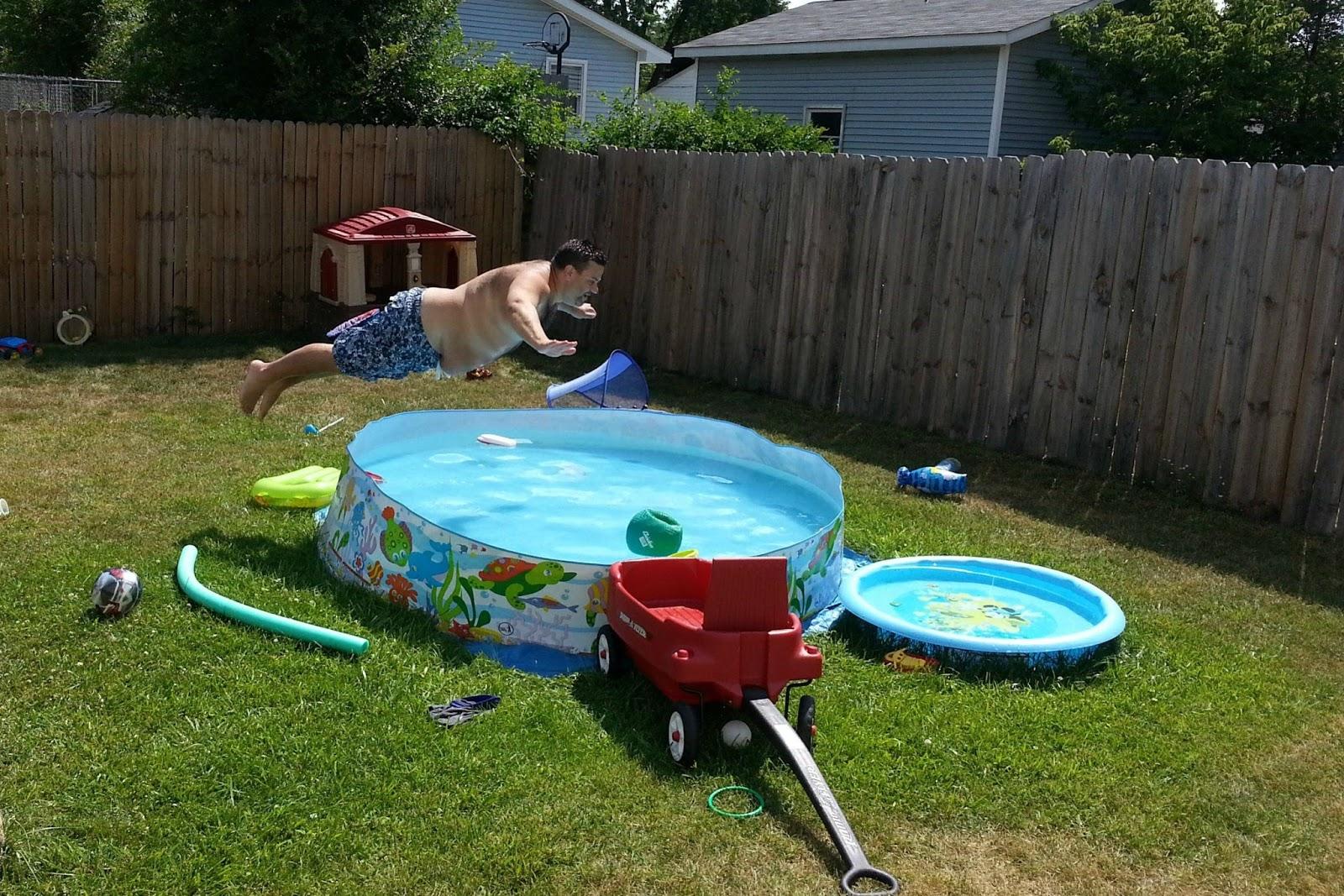Stuart R West Fat Guy In A Kiddie Swimming Pool