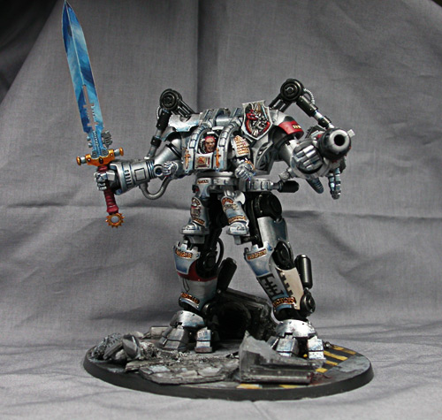5 Years Of Paint Painting The Dreadknight