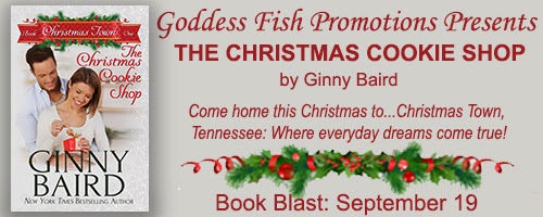 THE CHRISTMAS COOKIE SHOP BY GINNY BAIRD - BOOK BLAST & GIVEAWAY!