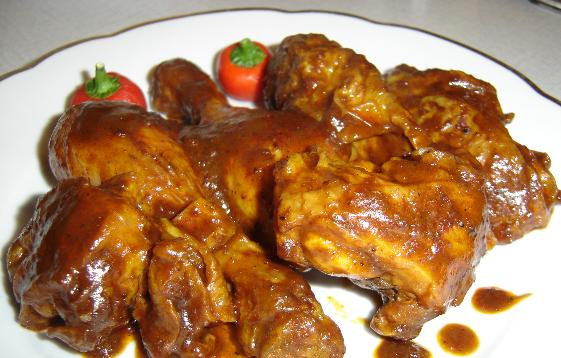Resep ayam sambel kacang