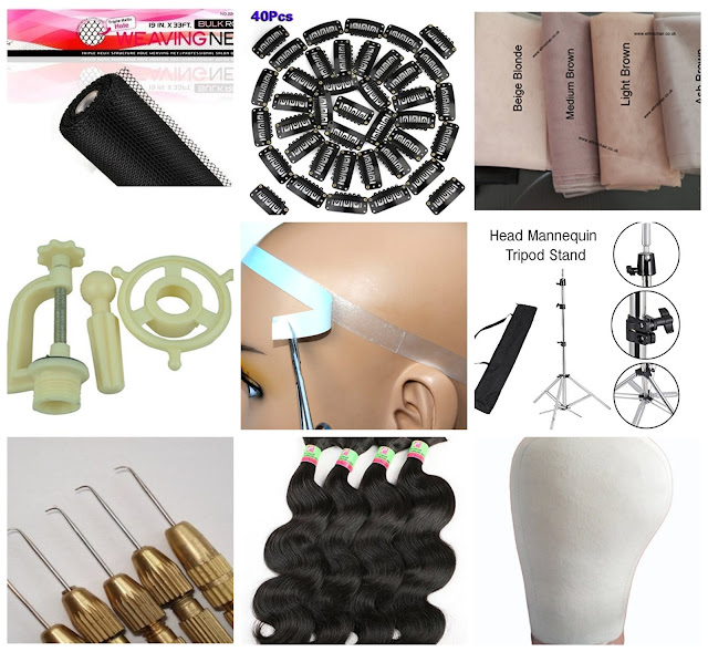 Basic Supplies For Wigmaking/Ventilating
