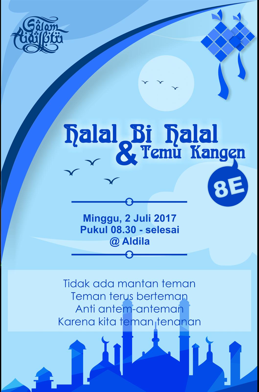 Download Undangan Bukber Dan Halal Bi Halal Cdr
