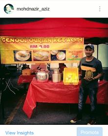 Cendol Durian Ketagih Taman Dato Harun, Petaling Jaya