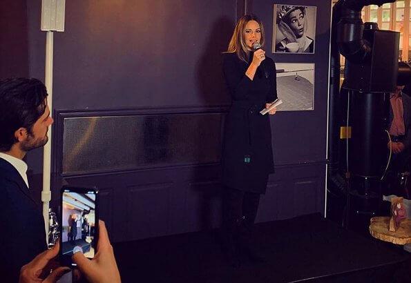 Princess Sofia wore Dagmar Arcelia dress and, Princess Sofia wore Emma Israelsson Palm leaf ring in silver