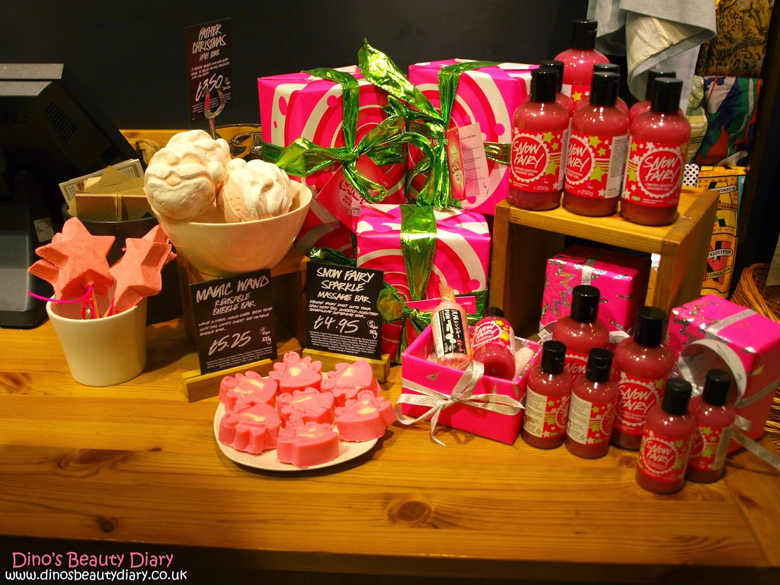 Dino's Beauty Diary - Lush Nottingham Bloggers Event - christmas gift