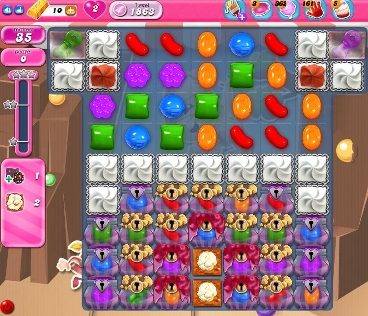 Candy Crush Saga 1863