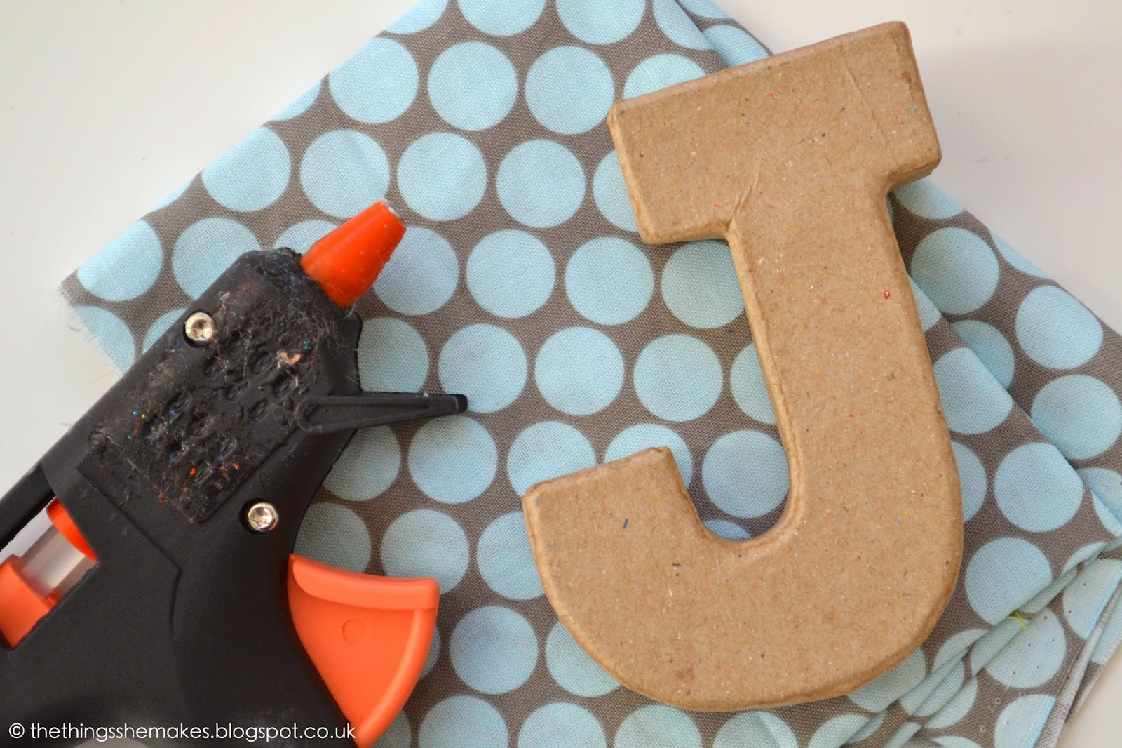 How To Make Padded Letters The Things