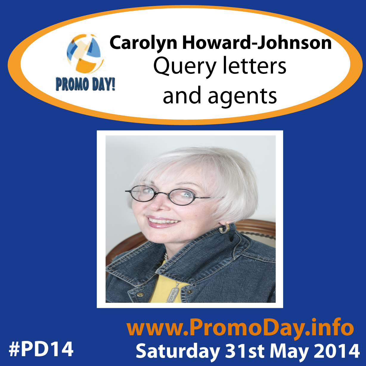 "Carolyn Howard Johnson ""Query letters and Agents"" #PD14"